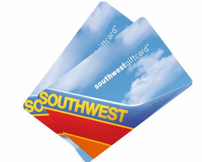 $100 Southwest Gift Card